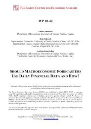 should macroeconomic forecasters use daily financial data and