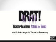 Disaster Readiness Actions For Teens - The 2012 Integrated ...