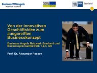 Prof. Dr. Alexander Pocsay - Saarland - Ministerium für Wirtschaft