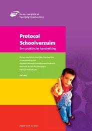 Protocol Schoolverzuim - Aanval op schooluitval