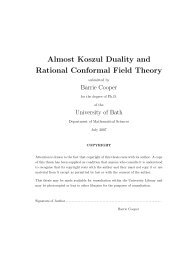 Almost Koszul Duality and Rational Conformal Field Theory