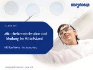 MorphoSys AG - BIO Deutschland