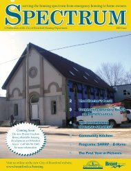 Spectrum Newsletter 2010 - City of Brantford