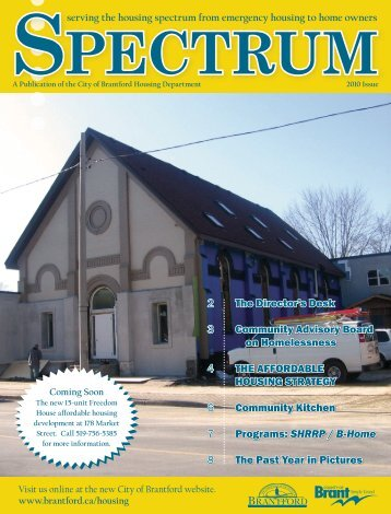 Spectrum Newsletter 2010 - City of Brantford