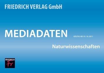 inhaltsverzeichnis - Friedrich Verlag