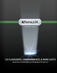 led flashlights, conversion kits, & work lights - TerraLUX Portable