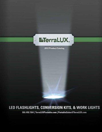 led flashlights, conversion kits, & work lights - TerraLUX Portable