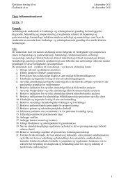 Revideret forslag til sn 1.december 2011 Godkendt af sn 19 ...
