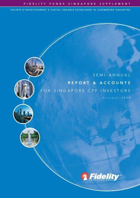 semi-annual report & accounts for singapore cpf investors