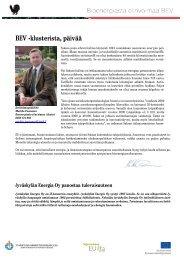BEV -klusterista, päivää - Keski-Suomen liitto