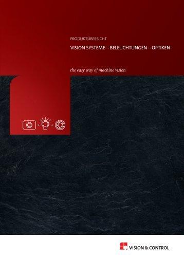 Produktübersicht - Vision & Control