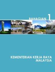KEMENTERIAN KERJA RAYA MALAYSIA BAHAGIAN 1