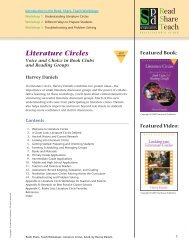 Literature Circles - Stenhouse Publishers