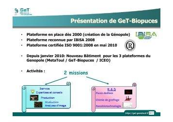 Comite GeT-Biopuces 5_11_2010