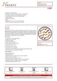 Contact Normes Description - Nexans