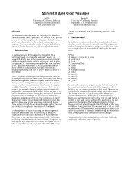 Starcraft II Build Order Visualizer - Visualization - University of ...