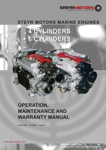 4 cylinders + 6 cylinders 4 cylinders + 6 cylinders - Steyr Motors