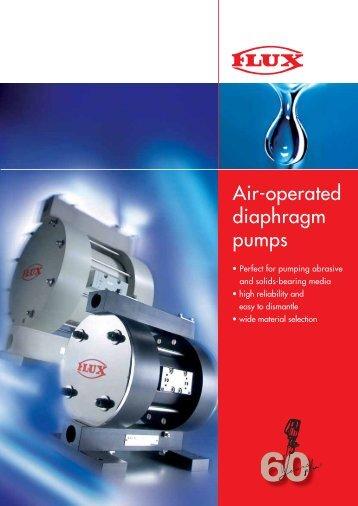 Air-operated diaphragm pumps