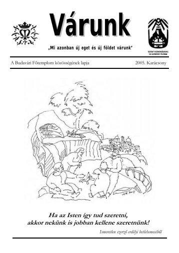 Karácsony (PDF - 610 KB) - Mátyás-templom