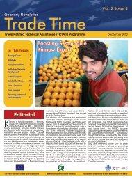 Trade Time – Vol 2; Issue 4 - TRTA Pakistan