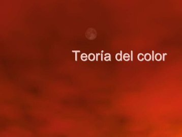 Teoría del color - GIAA