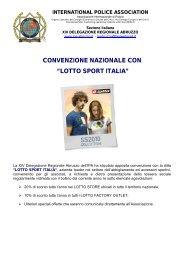 """CONVENZIONE NAZIONALE CON """"LOTTO SPORT ITALIA"""" - IPA Italia"""