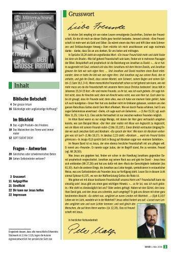 MNR 2006-03.pdf - Missionswerk Mitternachtsruf