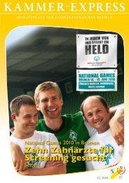 Fortbildungsveranstaltungen Anmeldung - Zahnärztekammer Bremen