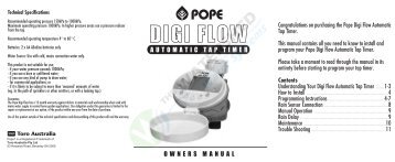 Digi Flow Automatic Tap Timer.pdf - Pope Products