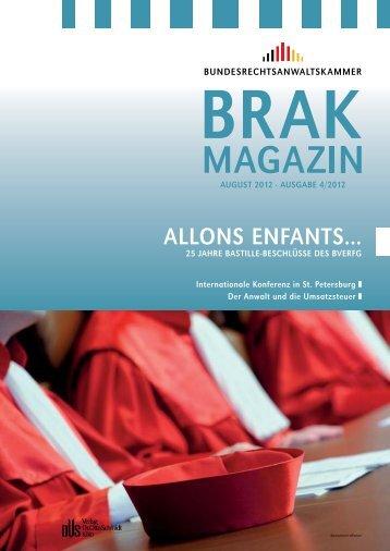 Fachinstitut für Arbeitsrecht - BRAK-Mitteilungen