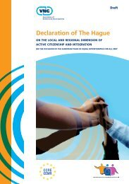 Declaration of The Hague - Council of European Municipalities and ...