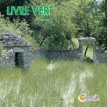 Environnement - Livre Vert volume 3 - Ville de Talant