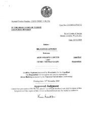 Neutral Citation Number: [2009] EWHC 3198 (Ch) Case No: CH ...
