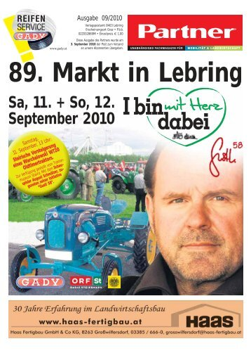 89. Markt in Lebring - Website-Box