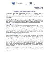 EdifiXio ouvre un bureau commercial à Lyon Accompagnée ... - Aderly