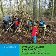 ekoškolky a lesní mateřské školy - Ministerstvo životního prostředí