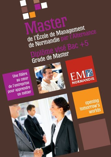Guide Alternance 2011 - EM Normandie