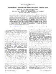 pdf - Rudolf Peierls Centre for Theoretical Physics