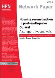 Humanitarian Practice Network (pdf) - World Habitat Research ...