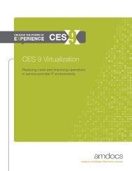 CES 9 Virtualization - Amdocs