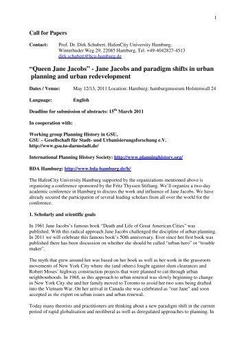Queen Jane Jacobs - gsu