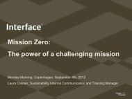 Mission Zero: The power of a challenging mission