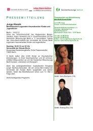 Junge Klassik - Deutsche Rheuma-Liga Berlin eV