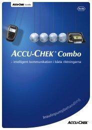 Insulinpumpbehandling - Accu-Chek