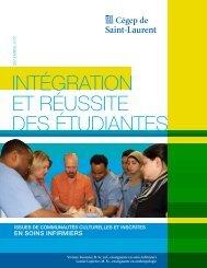 intégration et réussite des étudiantes - Cégep de Saint-Laurent