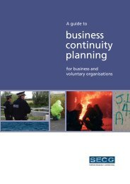 Business Continuity Planning guide - Glasgow City Council