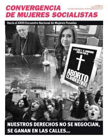 CONVERGENCIA DE MUJERES SOCIALISTAS - Indymedia Argentina