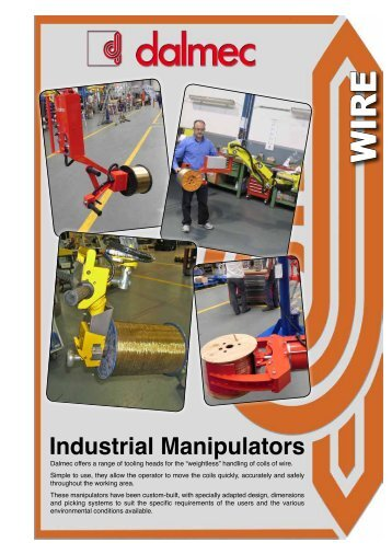 Industrial Manipulators - Dalmec