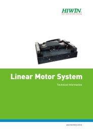 Linear Motor Catalog (PDF) - Hiwin