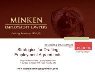 by Minken Employment Lawyers